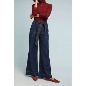 Anthropologie Pilcro Ultra High-Rise Wide-Leg Jean